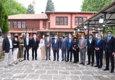 Dışişleri Bakan Yardımcısı Büyükelçi Faruk Kaymakcı ve AB Türkiye Delegasyonu Başkanı Büyükelçi Nikolaus Meyer-Landrut'un Edirne Ziyareti