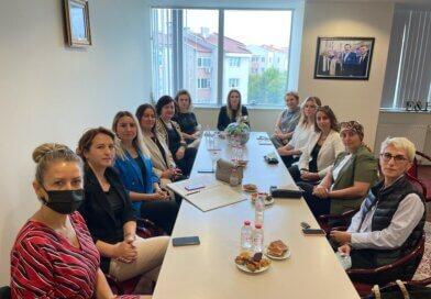 TOBB Edirne İl Kadın Girişimciler Kurulu İcra Komitesi'nin Eylül Ayı Olağan Toplantısı'nı Gerçekleştirdik